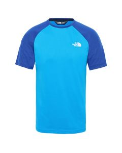 Męska koszulka The North Face TANKEN RAGLAN TEE bomber blue