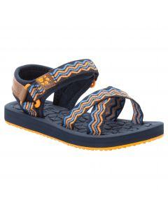 Sandały dla dziewczynki ZULU K blue / orange