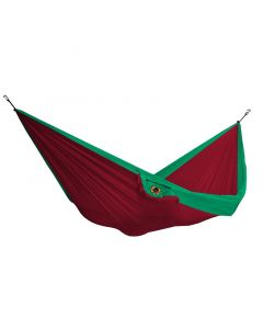 Hamak dwuosobowy DOUBLE HAMMOCK 10/11 red/green