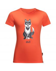 Koszulka dziecięca WOLF T KIDS mango orange
