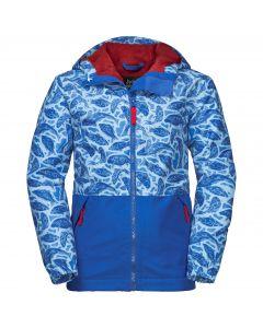 Dziecięca kurtka zimowa SNOWY DAYS PRINT JACKET KIDS coastal blue allover