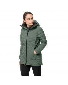 Płaszcz puchowy damski ATHLETIC DOWN COAT W Hedge Green