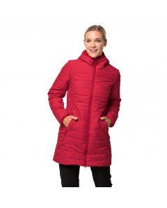 Płaszcz damski Jack Wolfskin MARYLAND COAT ruby red