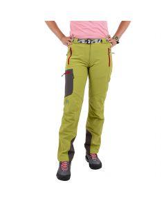 Damskie spodnie softshellowe Milo VINO LADY mirabelle/grey
