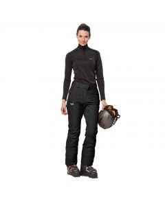 Spodnie narciarskie damskie POWDER MOUNTAIN PANTS W black