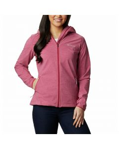Damski softshell Columbia Heather Canyon Softshell red orchid