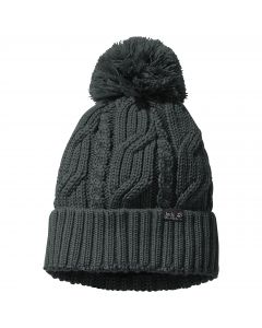 Czapka STORMLOCK POMPOM BEANIE greenish grey