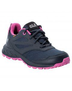 Buty dla dzieci WOODLAND TEXAPORE LOW K Blue / Pink