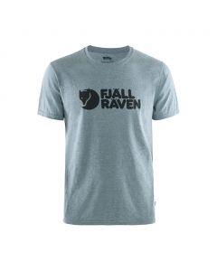 Męska koszulka Fjallraven Logo T-shirt uncle blue