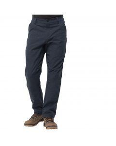 Spodnie softshellowe męskie WINTER TRAVEL PANTS midnight blue