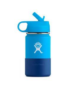 Butelka dla dzieci HydroFlask 12oz Wide Mouth Kids pacific