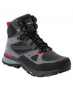 Buty trekkingowe FORCE TREKKER TEXAPORE MID M Black / Red