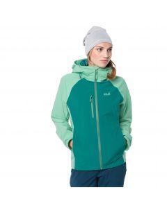 Kurtka trekkingowa damska MOUNT EMIN JKT W emerald green