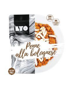Liofilizat Lyofood PENNE a'la bolognese 95g (na porcję 370g, 384 kcal)