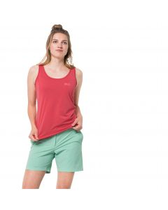 Koszulka damska CROSSTRAIL TOP WOMEN tulip red
