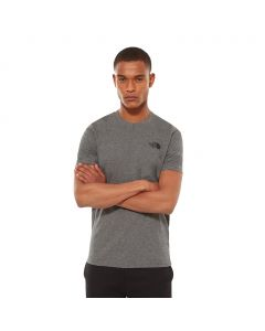 T-shirt męski The North Face S/S SIMPLE DOME TEE medium grey