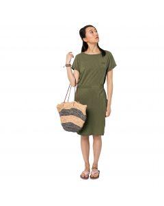 Sukienka sportowa TRAVEL DRESS delta green