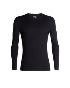 Koszulka termoaktywna męska Icebreaker 200 OASIS LS CREWE black
