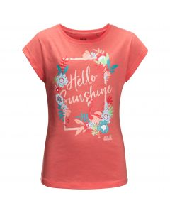 T-shirt dla dziewczynki SUNSHINE T GIRLS desert rose