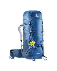 Damski plecak trekkingowy Deuter AIRCONTACT 40+10 SL steel/midnight