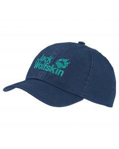 Czapka dziecięca KIDS BASEBALL CAP dark indigo