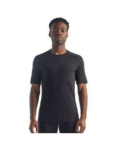 Koszulka termoaktywna męska Icebreaker 200 OASIS SS CREWE black