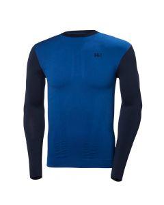 Koszulka LIFA SEAMLESS CREW MEN evening blue