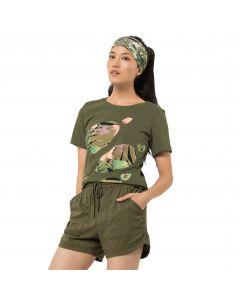 Koszulka damska PARADISE LOGO T W light moss