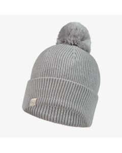 Czapka Buff Merino Wool Hat Tim light grey