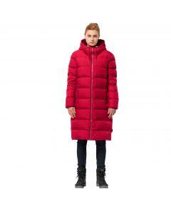 Płaszcz puchowy damski CRYSTAL PALACE COAT ruby red