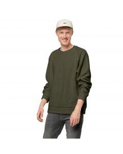 Bluza polarowa męska NATURE LIFE PULLOVER M Bonsai Green
