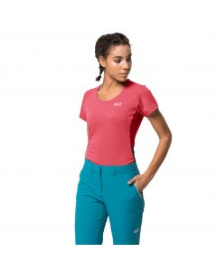 T-shirt damski NARROWS SKY T W coral pink