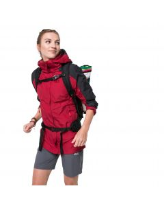 Kurtka trekkingowa damska BRECON RANGE JKT W scarlet