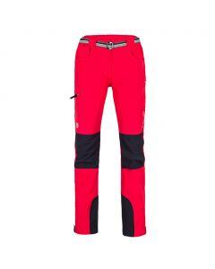 Spodnie trekkingowe Milo Tacul Lady tomato red/black