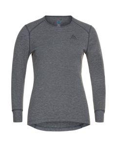 Damska koszulka termoaktywna Odlo ACTIVE WARM ECO LS Baselayer steel grey