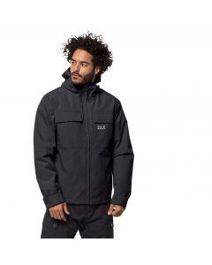 Męska kurtka przeciwdeszczowa WINTER RAIN JACKET M black