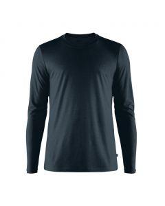 Męska koszulka Fjallraven Abisko Wool LS dark navy