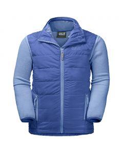 Zestaw 3w1 kurtka polarowa + kamizelka GLEN DALE KIDS baja blue