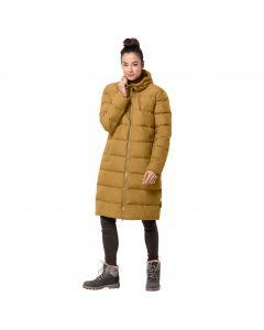 Płaszcz puchowy damski CRYSTAL PALACE COAT Golden Amber