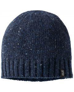 Czapka zimowa damska MERINO BASIC CAP night blue