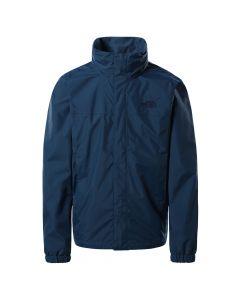 Męska kurtka przeciwdeszczowa The North Face RESOLVE 2 JACKET monterey blue