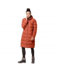 Płaszcz puchowy damski CRYSTAL PALACE COAT saffron orange