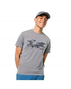 T-shirt męski JWP WORLD T M slate grey