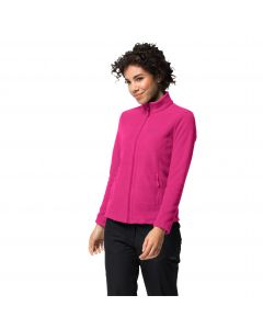 Bluza polarowa damska W MOONRISE JKT Pink Anemone