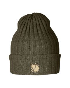 Wełniana czapka Fjallraven Byron Hat dark olive