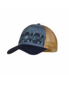 Męska czapka Buff Trucker Cap stone blue