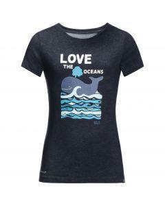 T-shirt dziecięcy OCEAN T KIDS night blue