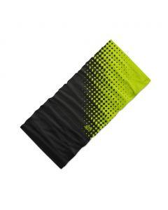 Chusta wielofunkcyjna 4Fun MULTIFUNCTIONAL SCARF 8 in 1 POLARTEC romb green black