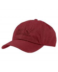 Czapka z daszkiem BASEBALL CAP red maroon