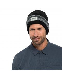 Czapka na zimę KNIT CAP black